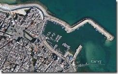 Southern Coast of the Adriatic Sea Mola di Bari, Italy