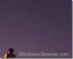 Cropped Quadrantrids Meteor