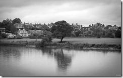 River Dee, Chester, Cheshire, England, U.K.