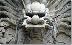 Chinese dragon, Guangzhou, China