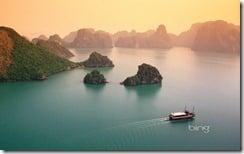 Halong Bay in Quang Ninh province, Vietnam