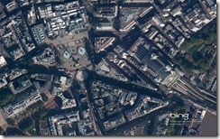 Trafalgar Square and Charing Cross StationLondon, England