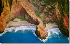 Nā Pali Coast of Kauai, Hawaii