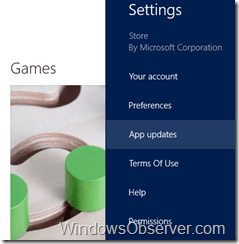 windowsstoreappupdates