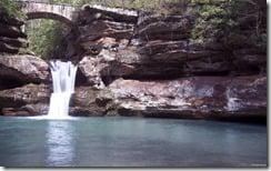Upper Falls, Old Man's Cave, Hocking Hills State Park, Ohio, U.S.
