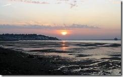 Sunset, Isle of Wight, U.K.