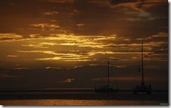 Sunset, Caye Caulker, Belize
