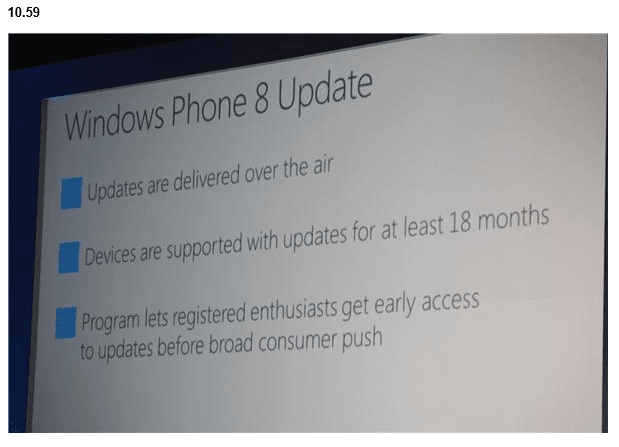 Nothing to see here: Microsoft Stated in 2012 Windows Phone 8 Would Only Have 18 Months of Support