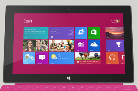 Resetting Your Windows 8 Installation on a Microsoft Surface RT