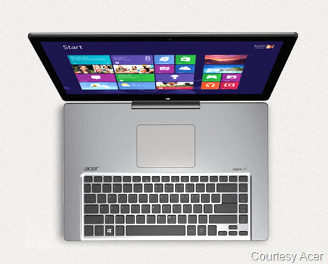 BREAKING NEWS: New Acer Aspire R7 Solves Longtime Laptop and Touch Pad Issue