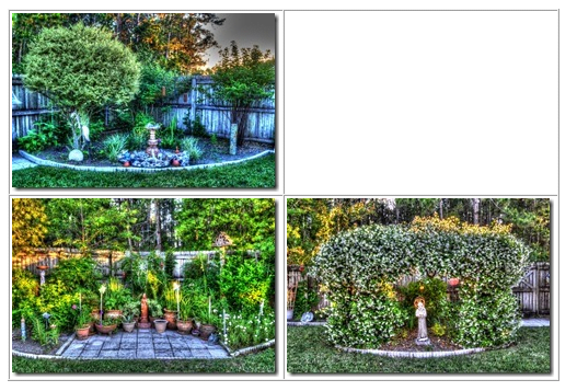 Theme: Garden HDR Images