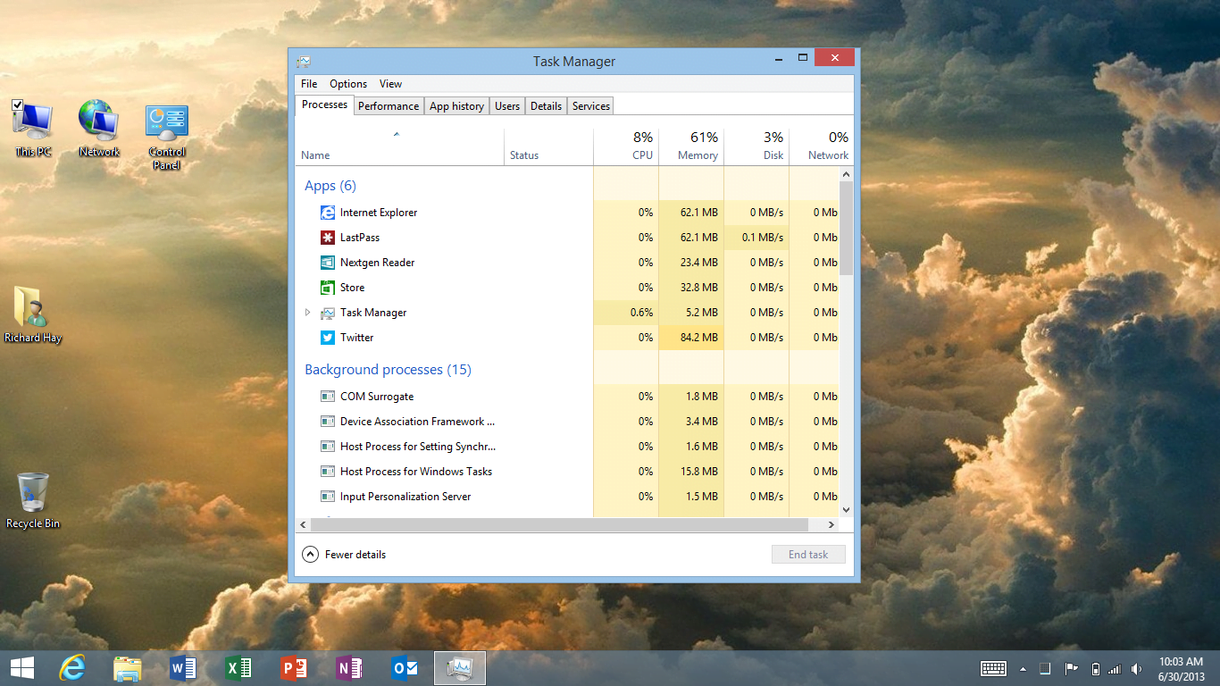 Closing Apps on Windows 8.1 has changed