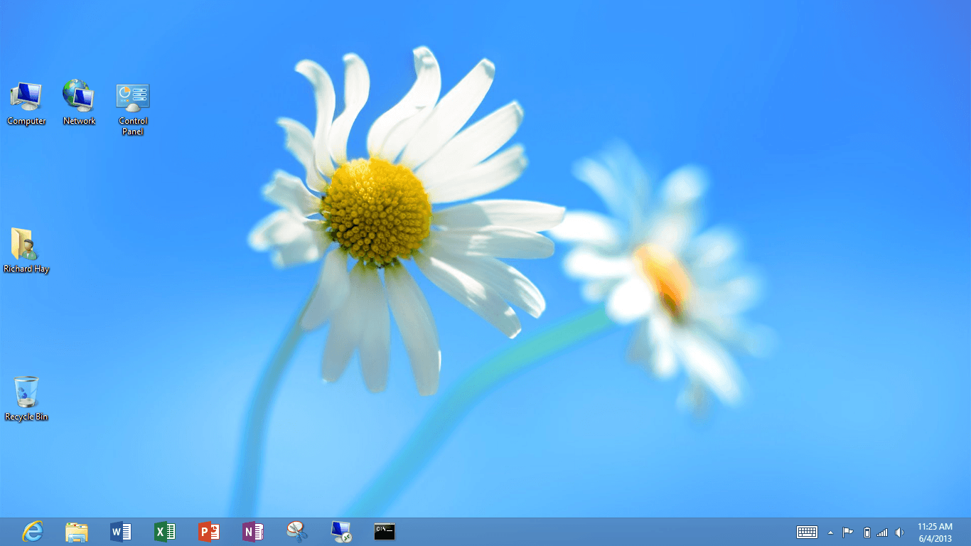 I just discovered that the Windows 8 Desktop can be closed like an App