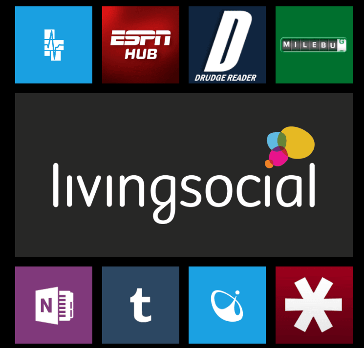 Daily Deals from Living Social on your Windows Phone