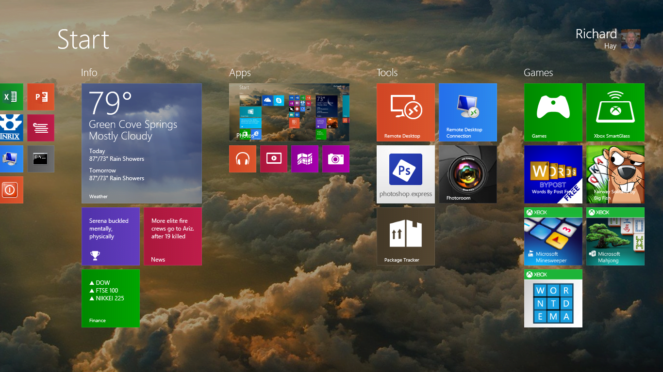 Set Start Screen Background to Desktop Wallpaper in Windows 8.1 Preview