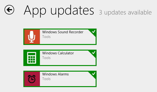 Turn Off Automatic App Updates in Windows 8.1