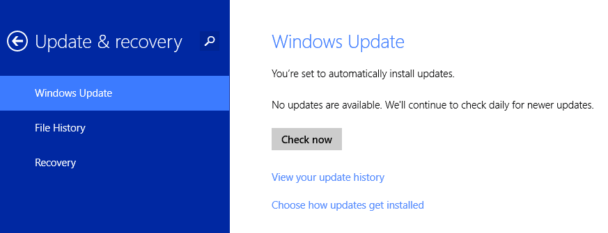 First Batch of Updates Released for Windows 8.1 Preview