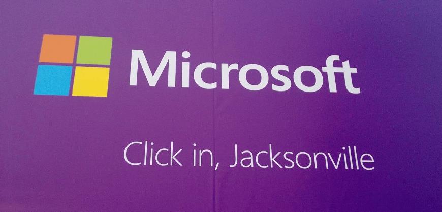 Microsoft Store Preps Continue in Jacksonville Florida