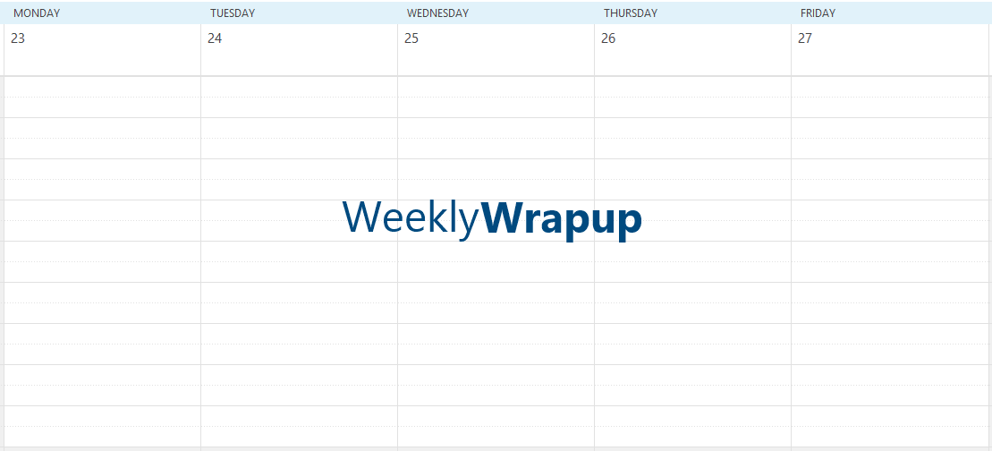 The Weekly Windows Observer Wrap Up for 30 August 2013