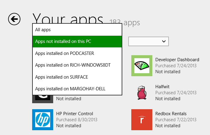 Microsoft Increases Windows Store App Roaming Limit from 5 to 81 Devices