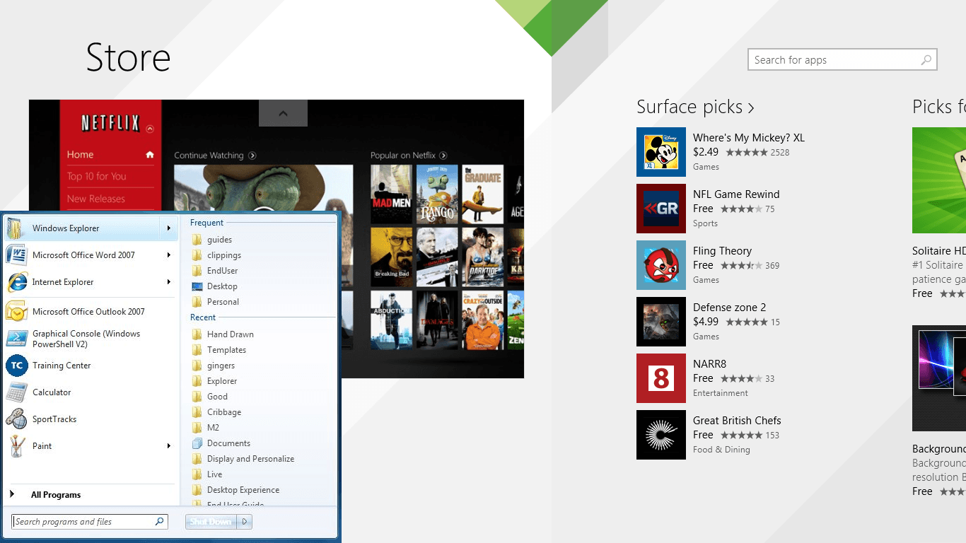 Microsoft Should Make Windows Store Modern Apps Available in Windows 7
