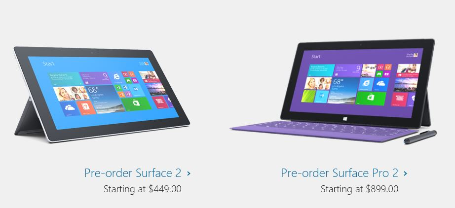 Preorders for 2nd Generation Surface Devices and Accessories Live at Microsoft Store Website