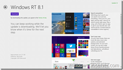 Try this if you are having trouble getting Windows 8.1 RTM in the Windows Store