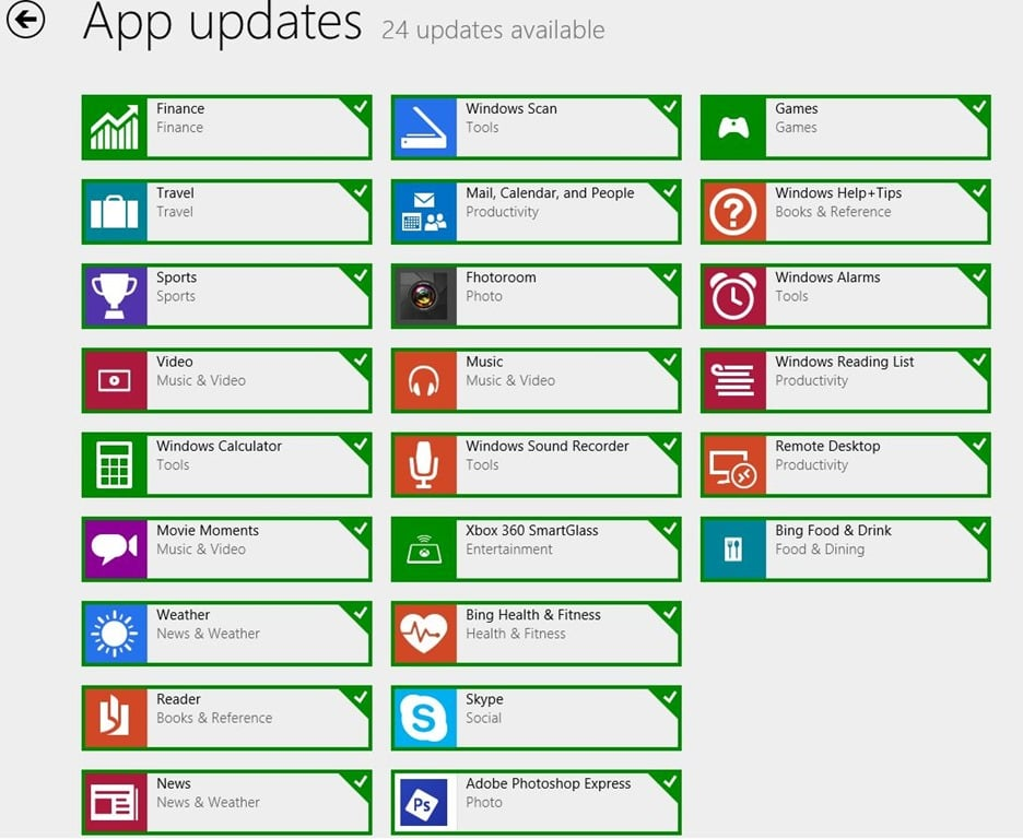 Official Facebook App released as other App updates begin for impeding release of Windows 8.1 RTM