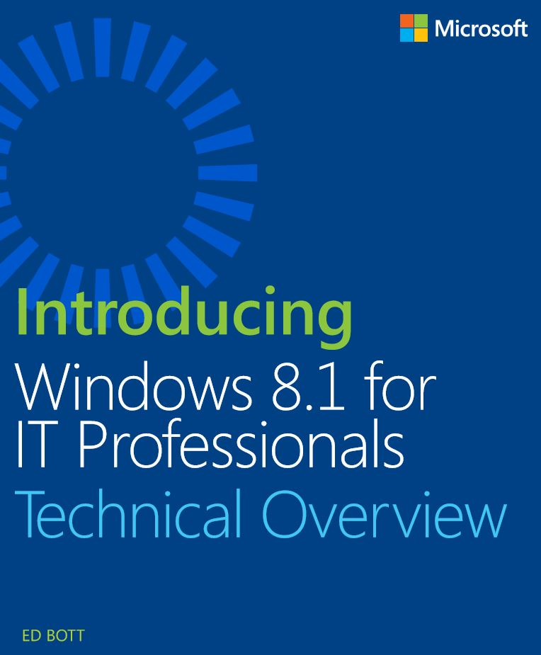 Free eBook Download – Introducing Windows 8.1 for IT Professionals Technical Overview