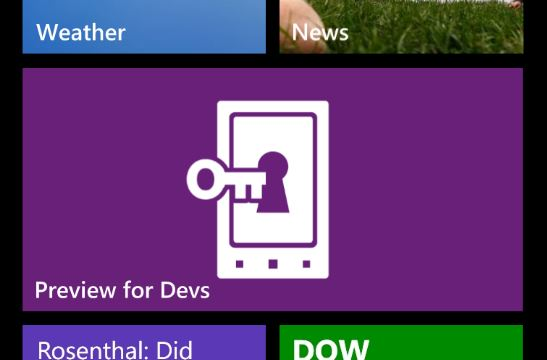 Windows Phone Officially Announces GDR3 and a Developer Early Access Program