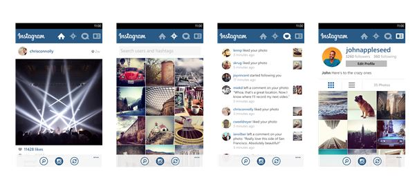 Instagram Arrives on Windows Phone 8 as a Beta and Poorly Executed