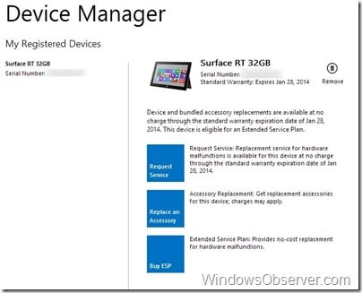 surfaceservicecenterdevicemanager