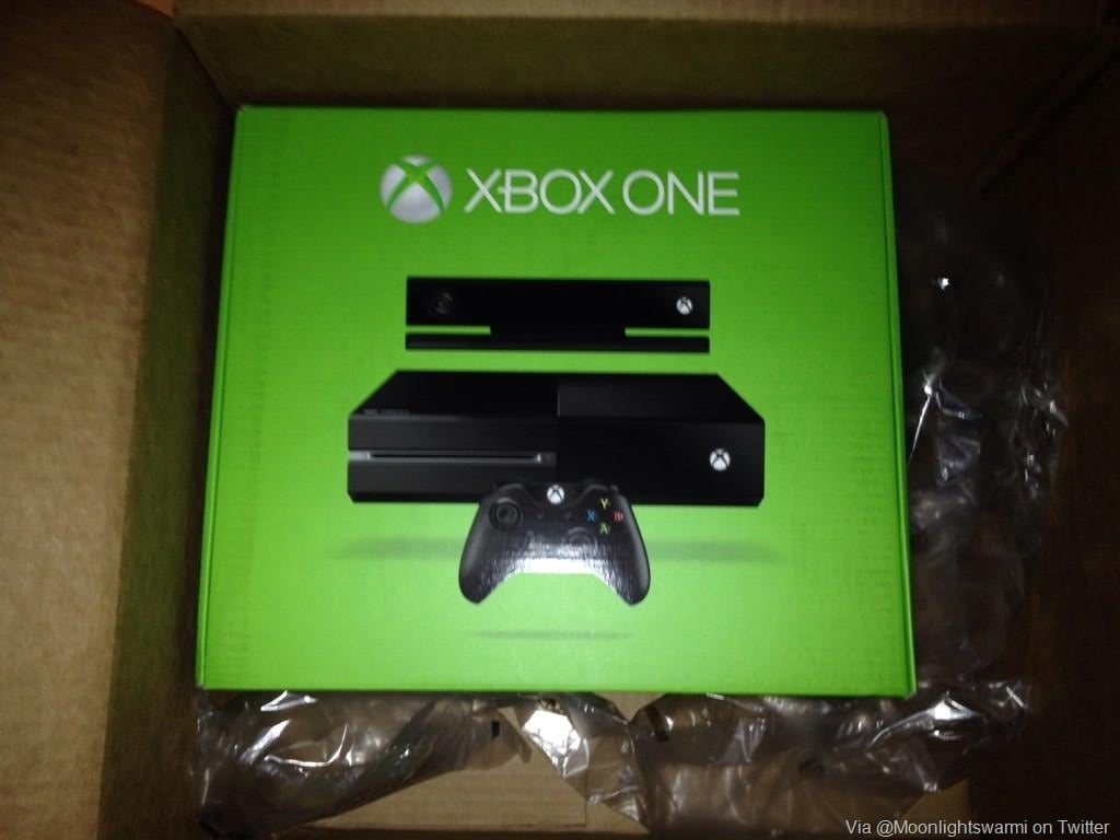 A few Xbox One consoles get shipped early by Target