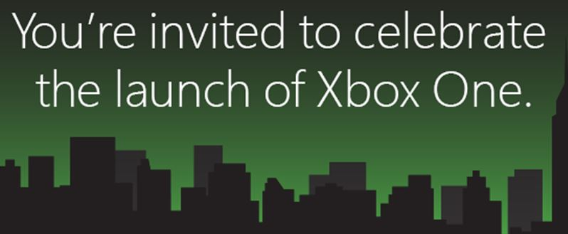 Microsoft shares Xbox One Launch Event details