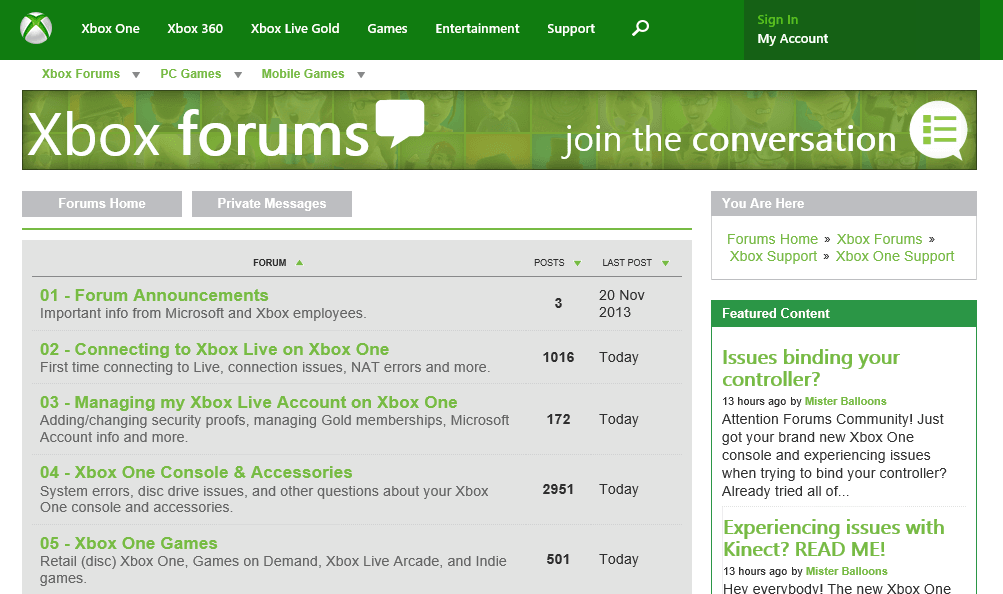 Xbox One Support Forums Tips and Tidbits