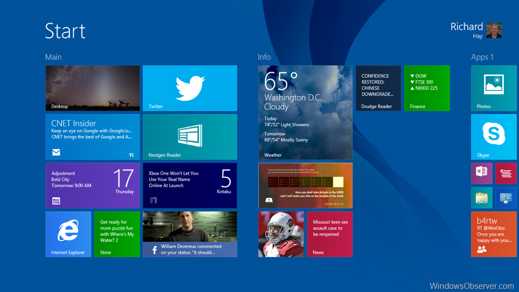 Windows 8.1 Preview License Scheduled to Expire in January 2014