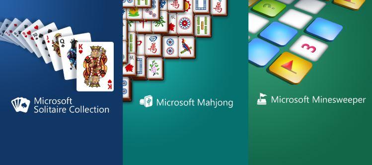 Microsoft Classic Windows Desktop Games on your Windows Phone