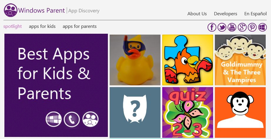 Windows Phone Parent rebrands to Windows Parent and begins curating Windows Apps