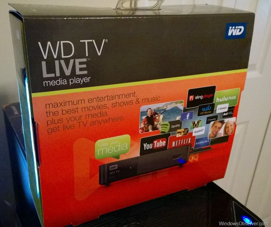 Giveaway – Western Digital TV Live Media Player