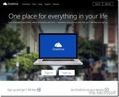 onedrivewebpage