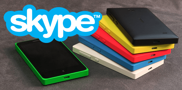 Microsoft customized Skype just for the Nokia X platform