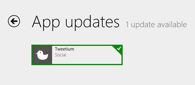 Tweetium App for Windows now identifies Twitter Apps being used