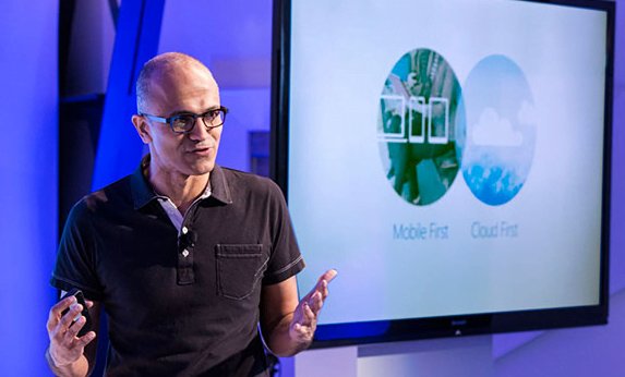 Microsoft's new CEO announces Office for iPad