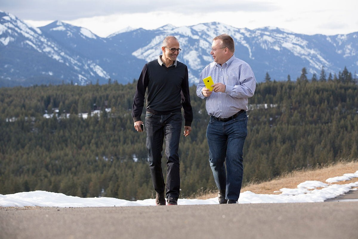 Stephen Elop answers questions following Microsoft acquisition