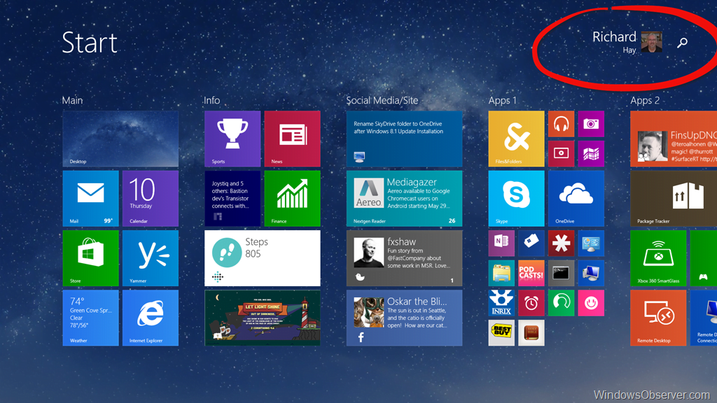 Add the missing Power Icon on your Surface for Windows 8.1 ...
