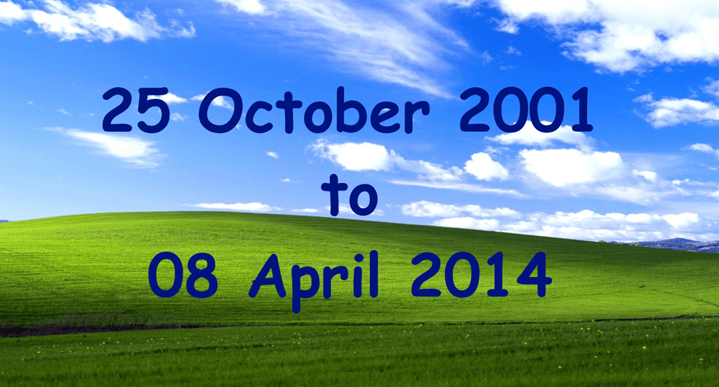 Official Windows XP Support Ends Today
