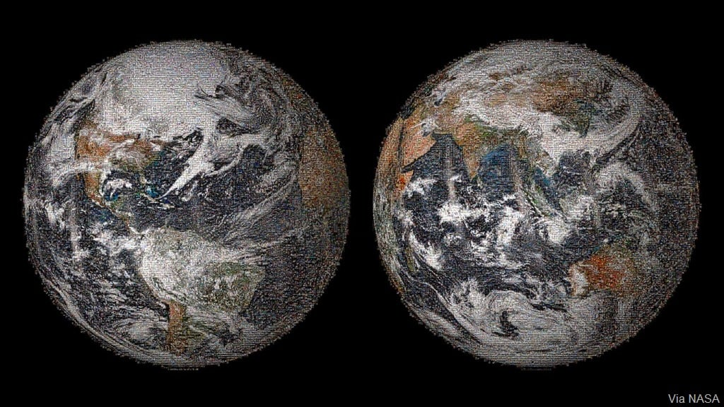 NASA posts a true #GlobalSelfie