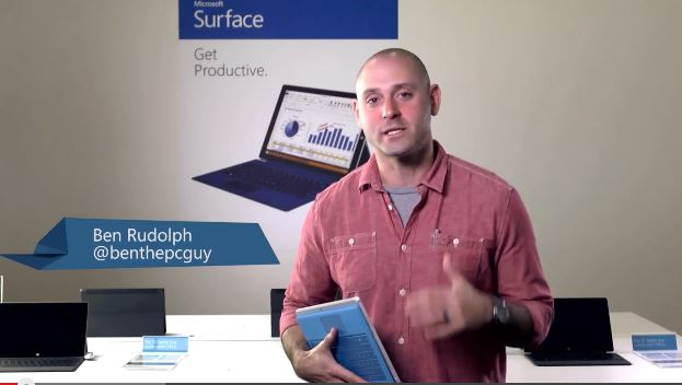 Hands on Surface Pro 3 with Ben the PC Guy (@benthepcguy)