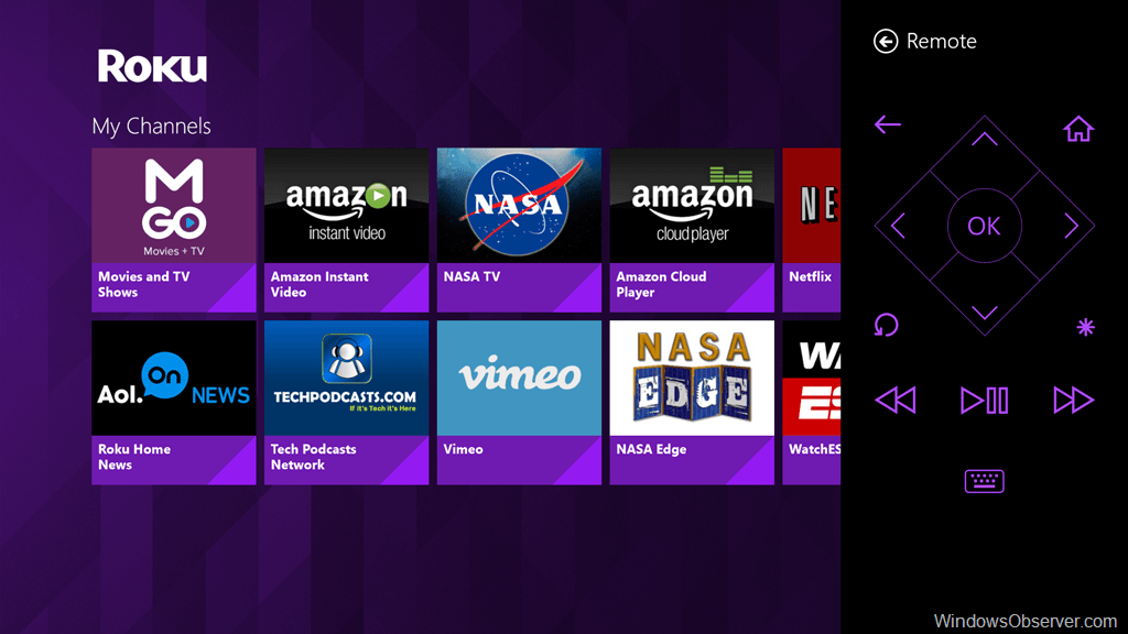 Official Roku App arrives on Windows & Windows Phone