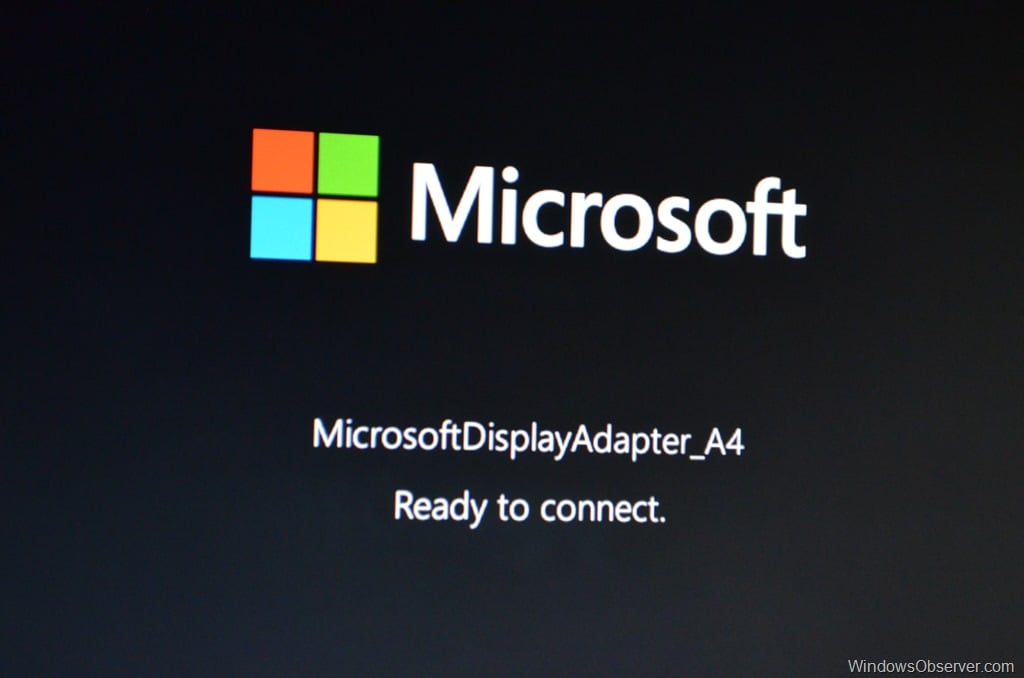 Microsoft Wireless Display Adapter – Eyes On